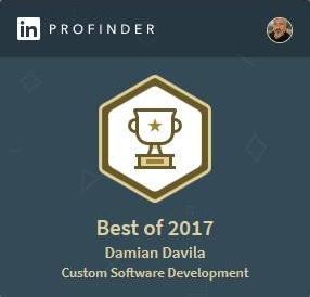 Proud to be named Best of Profinder